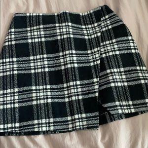 Abercrombie flannel skirt